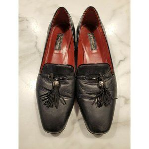 Brighton Size 10 Shoes Tassel Flats Loafers